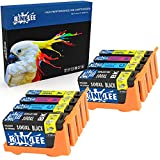 RINKLEE 8 Compatibles 100XL 100 XL Alta Capacidad Cartuchos de Tinta Reemplazo para Lexmark S305 S402 S405 S505 S602 S605 S815 S816 Pro 202 205 208 209 705 805 901 905