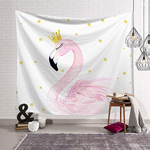 Chica Rosa corazón nórdico Dormitorio decoración Tela tapices de Pared Manta de Pared Colgando de Tela de Fondo 35 200x150