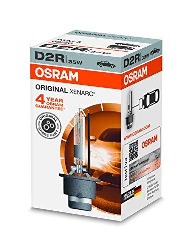 Oferta de OSRAM XENARC ORIGINAL D2R HID, lámpara de xenón, lámpara de descarga, calidad de equipamiento original (OEM), 66250, estuche (1 unidad)