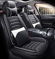 ユニバーサルFit.Carシートカバーフルセットのオールインクルーシブ革フォーシーズンシートカバークッション5シートフルセット,B