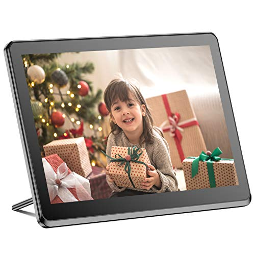 Digital Picture Frame WiFi 8 Inch Digital Photo Frame Full HD 1920x1080 IPS Touch Screen Display, Auto-Rotate, Share Photos and Videos via App, Email, Cloud, Stereo Video Music Player, Best Gift Digital Frames Picture