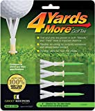 4 Yards More Golf Tees Green Green