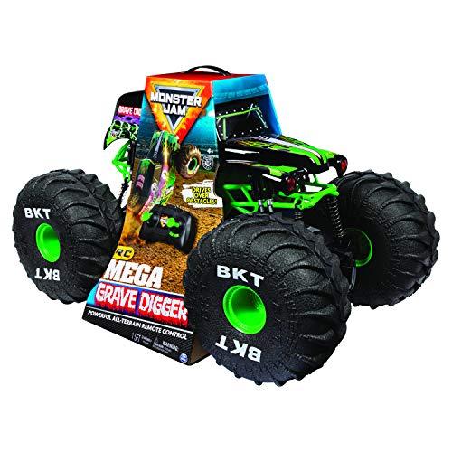 SpinMaster Monster Jam Mega Grave Digger Radio Control Vehicle