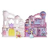 Disney Princess B6317 Castle Pink - Ensemble de jeu et étui avec poupée Cendrillon