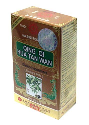 Qing Qi Hua Tan Wan Herbal Supplement (200 pills) (1 Bottle)