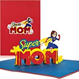 "PaperCrush® Pop-Up Karte Muttertag ""Super Mom"""