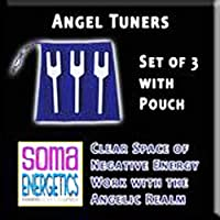 SomaEnergetics社 ソーマエナジェティクス エンジェルチューナー 音叉 日本語説明書付き Angel Tuners - Clear Space and Connect with Your Angels