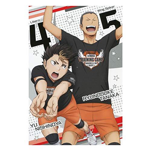 dili-bala Haikyuu Poster – Japón Manga Poster Papel Poster Japón Anime Poster Voleibol Comic Poster Cartoon Poster 11X17in (Multi-Style07)