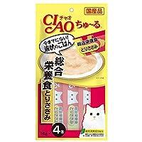 チャオ (CIAO) CIAOちゅーる 総合栄養食 とりささみ 14g×4本