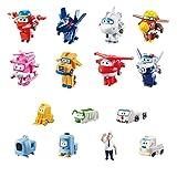 Super Wings  - Juego de coleccionista con 15 Figuras de Juguete de...