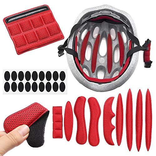 Zoharm 1 Set Helm-Innenpolster, versiegelter Schaumstoff, Ersatz-Pads, Set für Motorrad- und Fahrradhelme