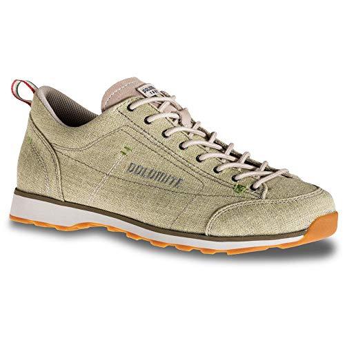 Dolomite, Zapato Cinquantaquattro LH Canvas Unisex Adulto, Field Green