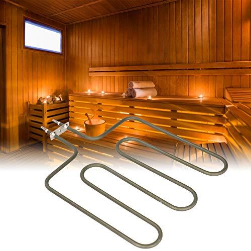 Atyhao 4.5KW Edelstahl Saunaheizungsrohr Elektrische Rohrheizung für Saunaofen Zubehör 230V Poolheizung