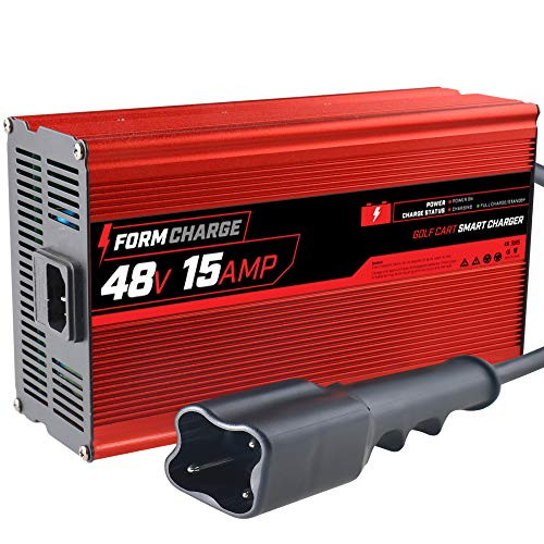 FORM 15 AMP Yamaha G29 Drive & Drive 2 Battery Charger for 48 Volt Golf Carts