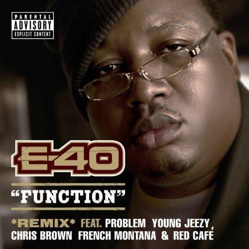 E-40 feat. ヤング・ジージー, クリス・ブラウン, Problem, フレンチ・モンタナ & レッド・カフェ