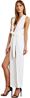 Maurie and Eve Ma Jolie Dress - Womenโ€™s Low V Back Sleeveless Maxi Dress