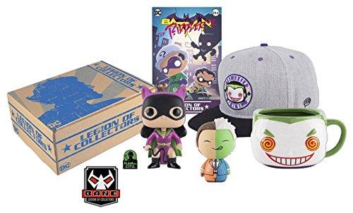 FunKo DC Legion of Collectors Box Batman Villains Comics Mini Figures