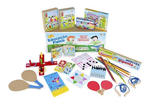 Kit Educação Física Carlu Brinquedos