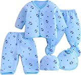 Brand : Sharma Clothing,5 Pcs baby suit( 1 Full Sleeves 1 cap 1 bib 2 Pajami) Material:100 % pure soft cotton/Fleece/Falalen. Size :0-6 Months Baby. Fit Type: Fits true to Regular size. Wash Care: Hand wash in normal water & Easily Washable.