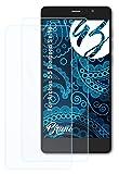 Bruni Schutzfolie kompatibel mit Archos 55 Diamond Selfie Folie, glasklare Bildschirmschutzfolie (2X)