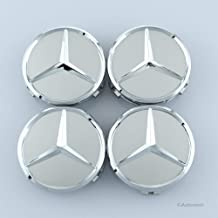 Sponsored Ad - Autowoor Silver Wheel Center Hub Caps Mercedes Benz,75mm/3 Inch Fit for Mercedes Benz All Models with (4 pcs)