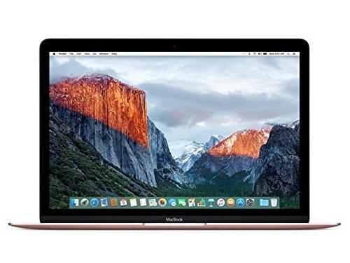 "Apple MacBook (Mid 2017) 12"" Laptop, 226ppi, Intel Core M3-7Y32 Dual-Core, 256GB, 8GB DDR3, 802.11ac, Bluetooth, macOS 10.12.5 Sierra - Rose Gold (Renewed)"