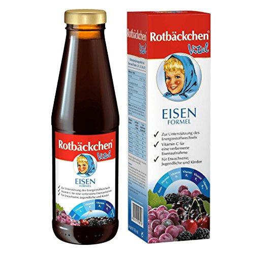 Rotbäckchen Vital Eisen Formel, Fruchtsäfte, 450 ml