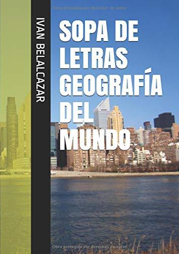 SOPA DE LETRAS GEOGRAFÍA DEL MUNDO