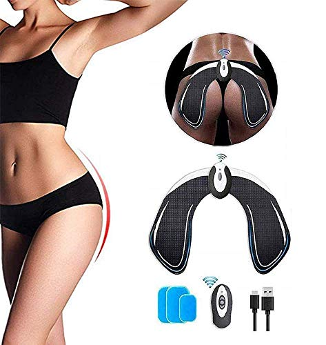 ABS Stimulator Hip Trainer, Electronic Hips Trainer, Smart Wearable Buttock Hip Trainer for Men Women Replacement Gel