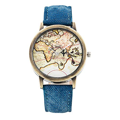 Cramberdy Uhr Damen Armbanduhr Frauen Armbanduhr Mädchen Mode Leisure Uhren Leder Analoge Quarz Armbanduhr Damen Uhr