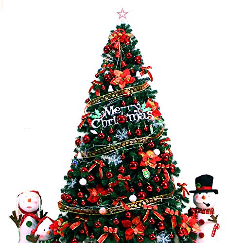 GE&YOBBY Scratch Layer 2 3 4 Meters Christmas Tree Home Luxury Encryption Package Shopping Mall Hotel Decoration Window Decoration Simulation Tree Company Outdoor Party