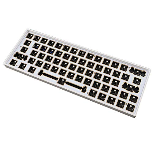 TSBB Wireless/Wired/Bluetooth Three Modos RGB Hot Swap Programmable PCB Plate Kit de Bricolaje