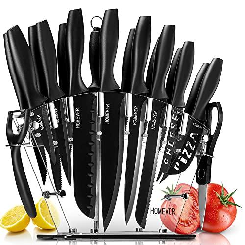 HOMEVER Couteau de Cuisines, Ens...