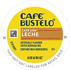 K-cup PODS for quick and easy brewing Espresso style coffee Contains 96 K cup pods Sweet and creamy