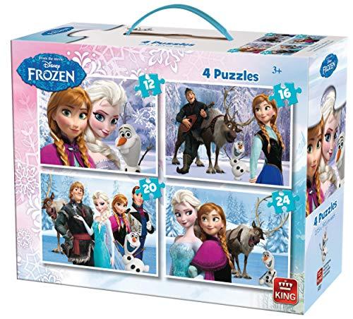 King- Disney Frozen Rompecabezas, Multicolor (KNG05237)
