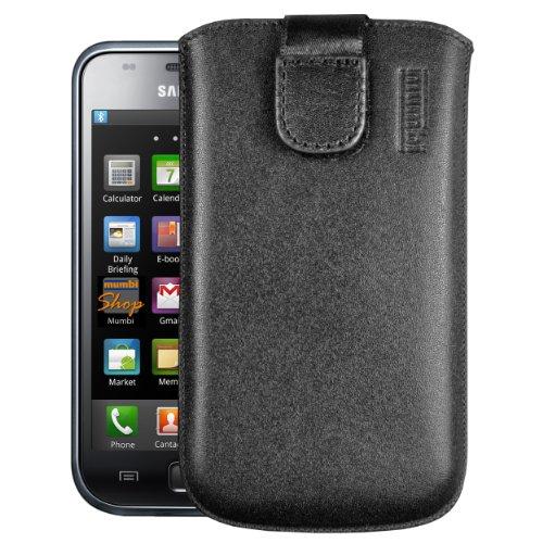 Mumbi, Custodia in pelle per Samsung i9000 Galaxy S/i9001 Galaxy S Plus