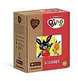 Clementoni- Play for Future-Bing Puzzle Cubi, 6 Pezzi, Multicolore, 44007