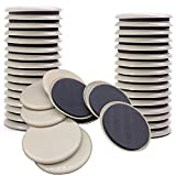 NEPAK 24 piezas Furniture Sliders,Discos para desplazar muebles pesados,almohadillas para protección del suelo,reutilizables