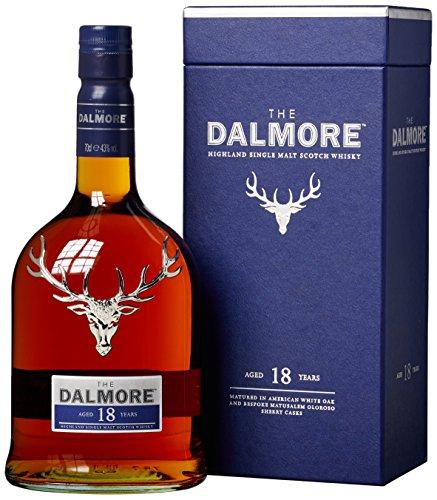 The Dalmore 18 Jahre Single Malt Scotch Whisky mit Geschenkverpackung (1 x 0,7l)