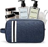 SpaLusive Luxury Spa Gift Set for Men - Natural Men's Gift Basket -...