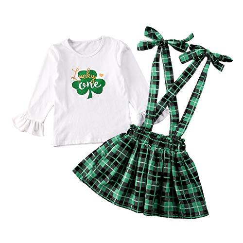 St. Patrick's Day Outfit Toddler Baby Girl...