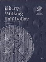 Whitman Coin Album -- Walking Liberty Half Dollars -- 1937-1947