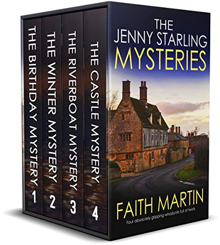 THE JENNY STARLING MYSTERIES BOOKS 1–4 four absolutely gripping whodunits full of twists (Cozy crime and suspense mystery box sets) (English Edition)