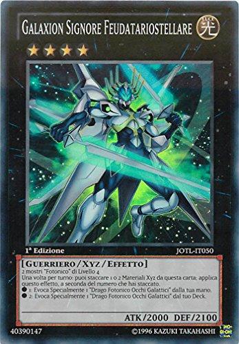 Yu-Gi-Oh! - JOTL-IT050 - Galaxion Signore Feudatariostellare - Giudizio della Luce - 1st Edition - Super Rara