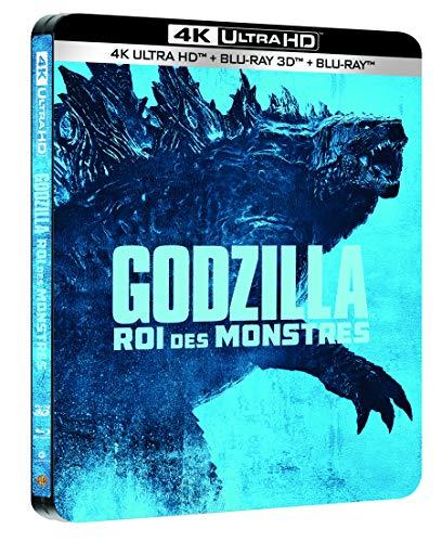 Godzilla : Roi des Monstres [4K Ultra HD 3D + Blu-Ray-Édition Limitée SteelBook]