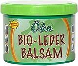 Crema speciale per Prodotti in Pelle con Spugna - Balsamo per Cuoio - Trattamento Naturale Incolore - con Cera d' api, 250 ml