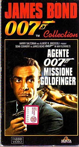 James Bond 007 Collection VHS Missione Goldfinger