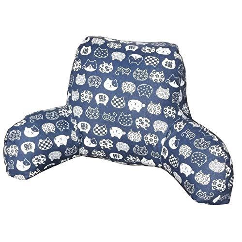 Cuscino per la lettura del lettino Cuscino per schienale lombare, enorme comfort per divano letto Cuscino per schienale con braccioli, cuscino di supporto per la testa per rilassarsi, giocare