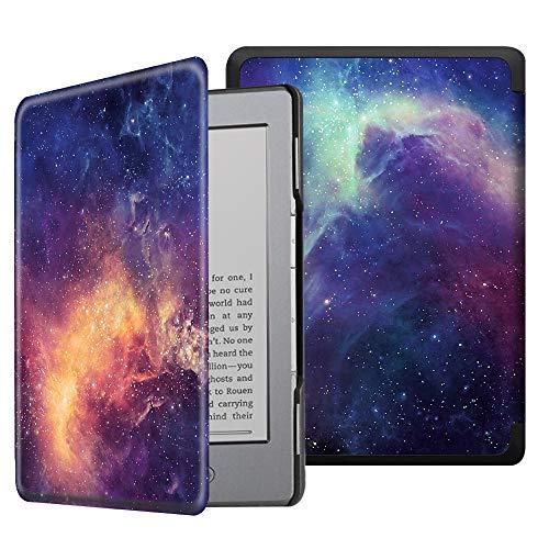 Fintie Hülle kompatibel für Kindle 5 (5. Generation 2012 Modell) / Kindle 4.Generation - Die dünnste und leichteste Schutzhülle mit Magnetverschluss, die Galaxie