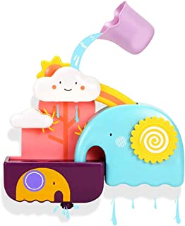Baby Bath Toys Squirt Spray Water Toy Bathtub Toys Elephant Toy Shower Set Spray Faucet Infant Kids Bathtub Shower Pool Ki...